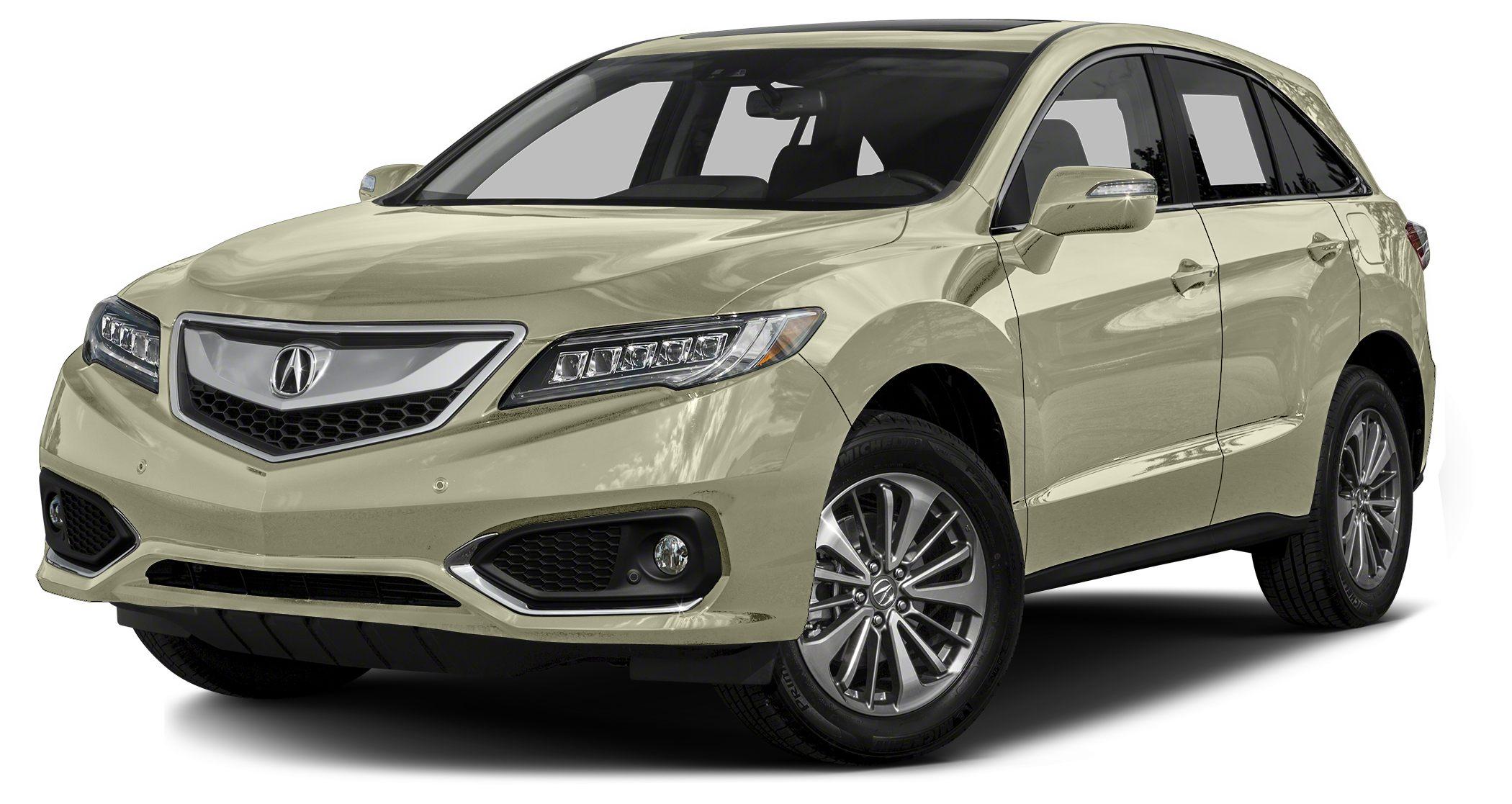 2016 Acura RDX Advance Miles 2Color White Diamond Pearl Stock A009354 VIN 5J8TB4H79GL009354