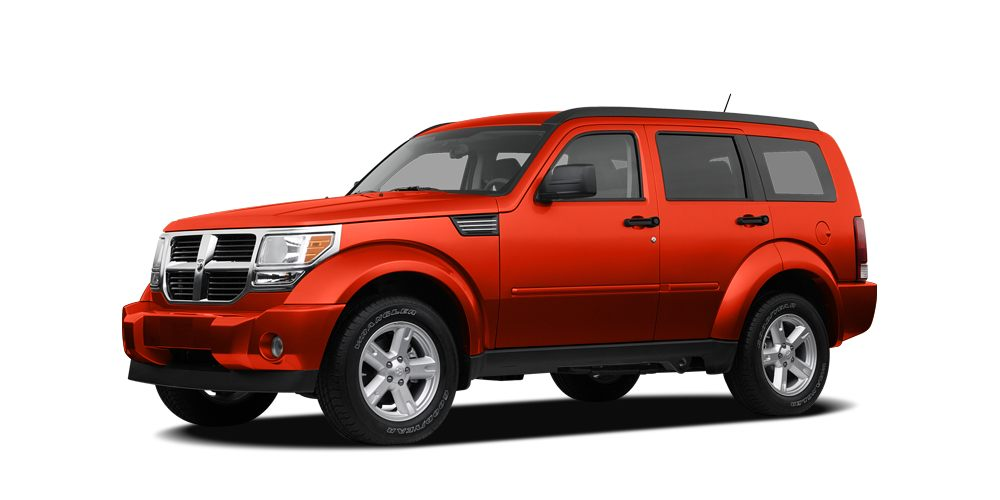 2007 Dodge Nitro SXT Miles 108583Color Orange Stock ZT608018 VIN 1D8GU28K47W608018