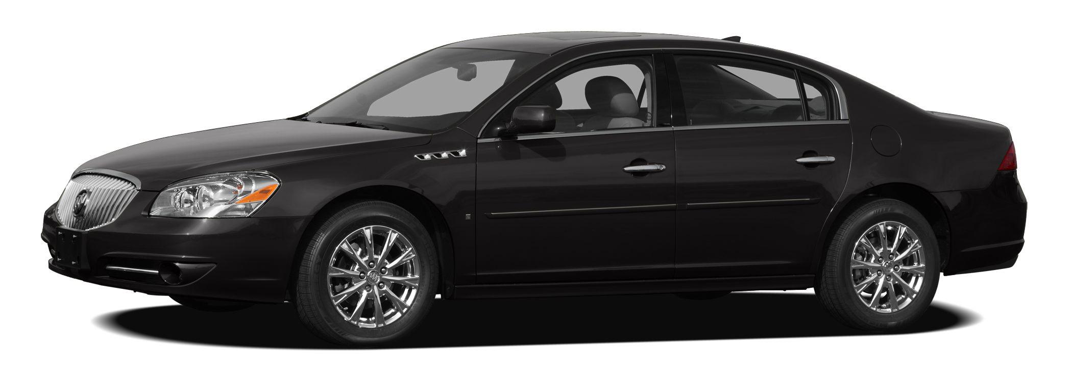 2010 Buick Lucerne CXL Driver Confidence Package Remote Vehicle Starter System StabiliTrak Stabi