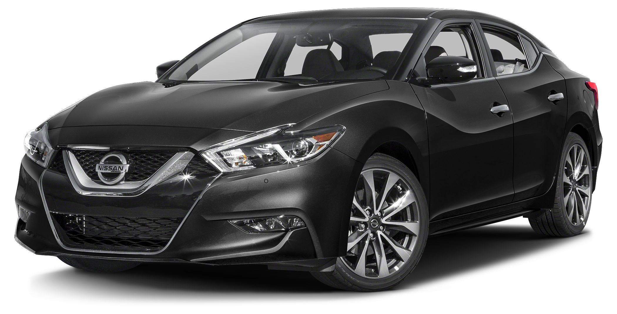 2016 Nissan Maxima 35 SR SR Sport Edition - Navigation - Super Black on Premium Charcoal Black As