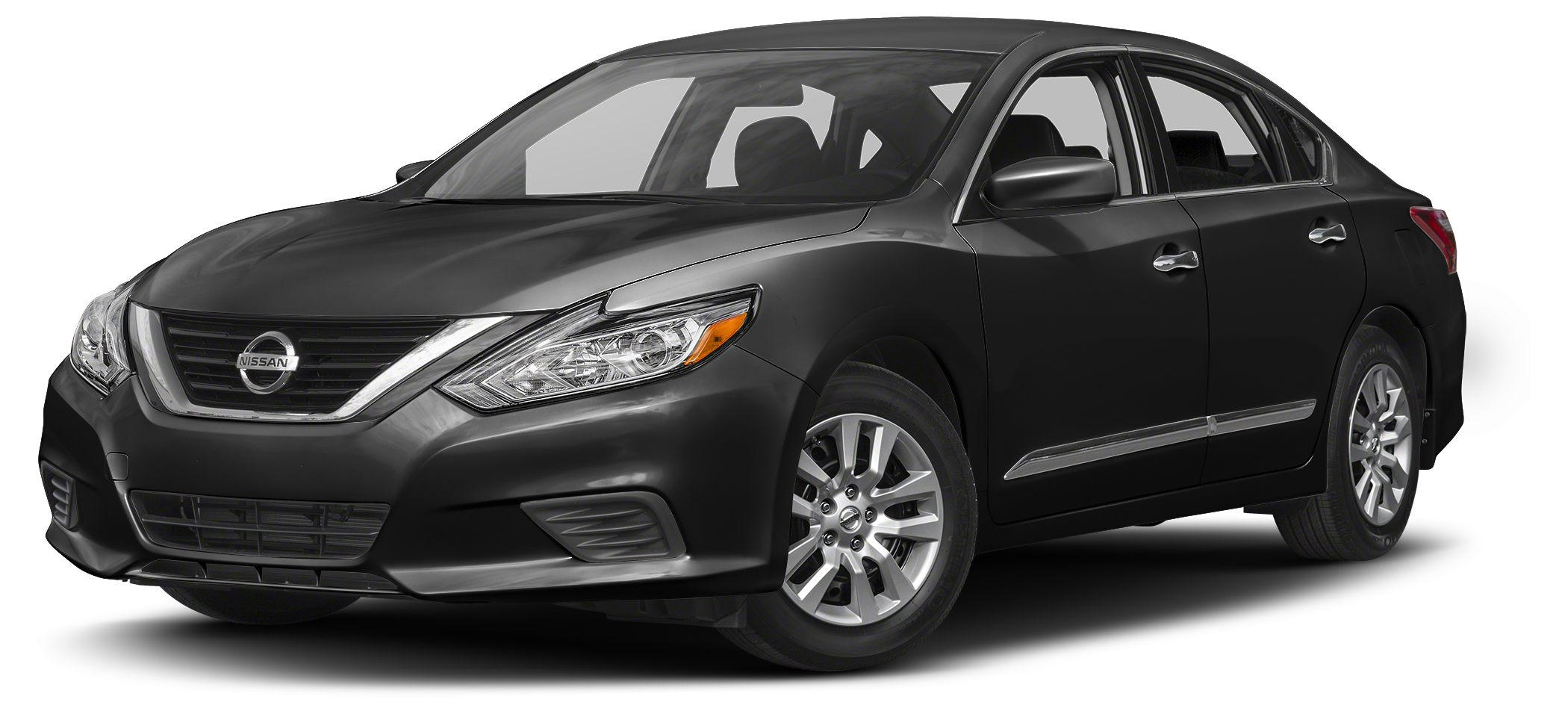 2016 Nissan Altima 25 S Super Black on Charcoal Black interior with Bluetooth Reverse Camera Pu