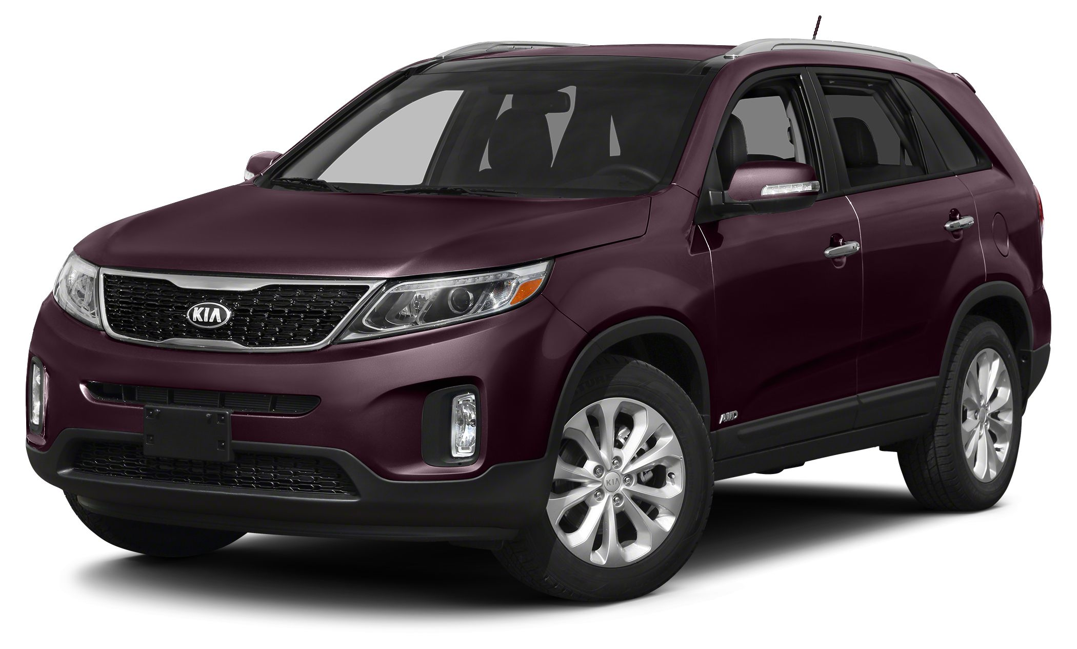 2014 Kia Sorento LX Miles 6488Color Dark Cherry Stock U2138 VIN 5XYKT3A66EG458051