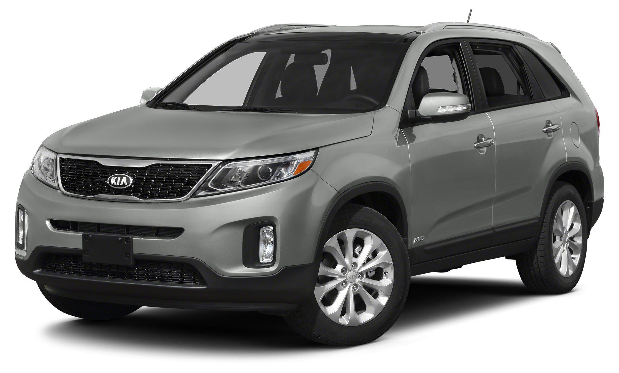 2014 Kia Sorento LX LX trim 12000 Mile Warranty EPA 26 MPG Hwy20 MPG City Bluetooth CD Playe