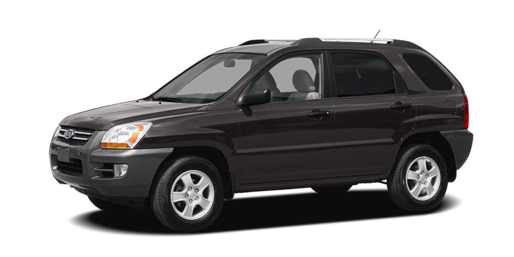 2008 Kia Sportage LX Miles 64271Color Black Stock K14514A VIN KNDJF724587519592
