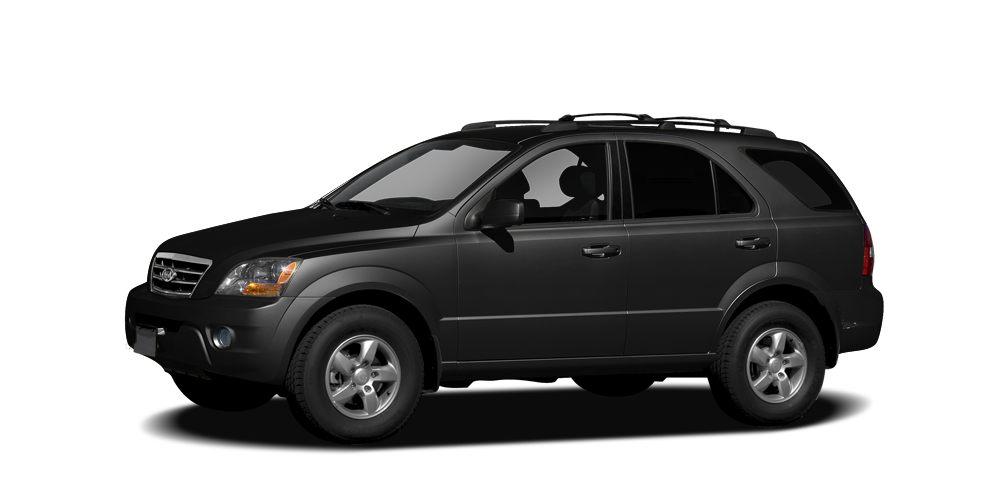 2008 Kia Sorento LX Miles 73580Color Black Stock K14687A VIN KNDJD735X85810999