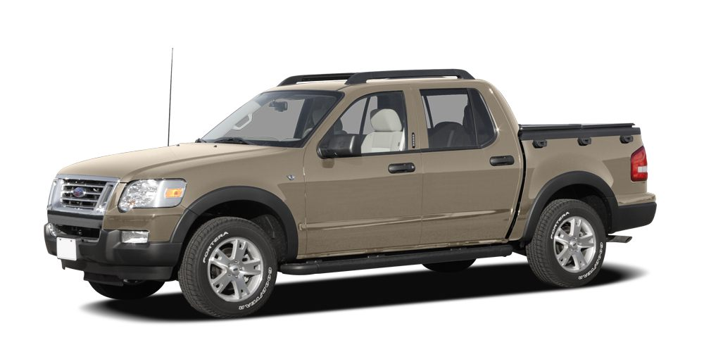 2007 Ford Explorer Sport Trac XLT Miles 86623Color Gold Stock 7UA12834 VIN 1FMEU31K57UA12834
