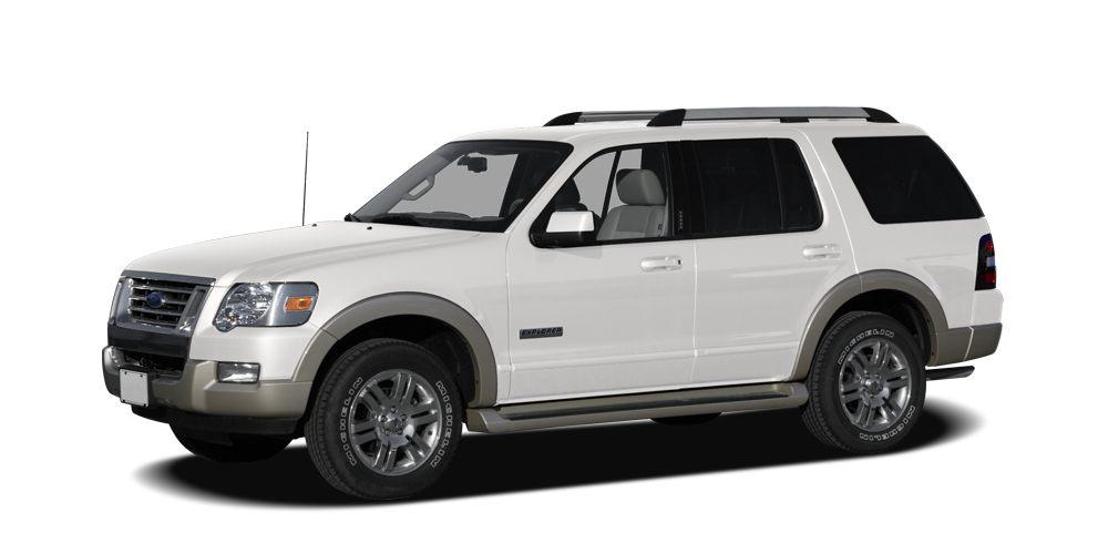 2007 Ford Explorer XLT Miles 93985Color Oxford White Clearcoat Stock FUB29047 VIN 1FMEU63E77