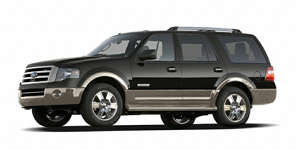 2007 Ford Expedition Eddie Bauer Miles 133601Color Black Stock 74163915 VIN 1FMFU18597LA6391