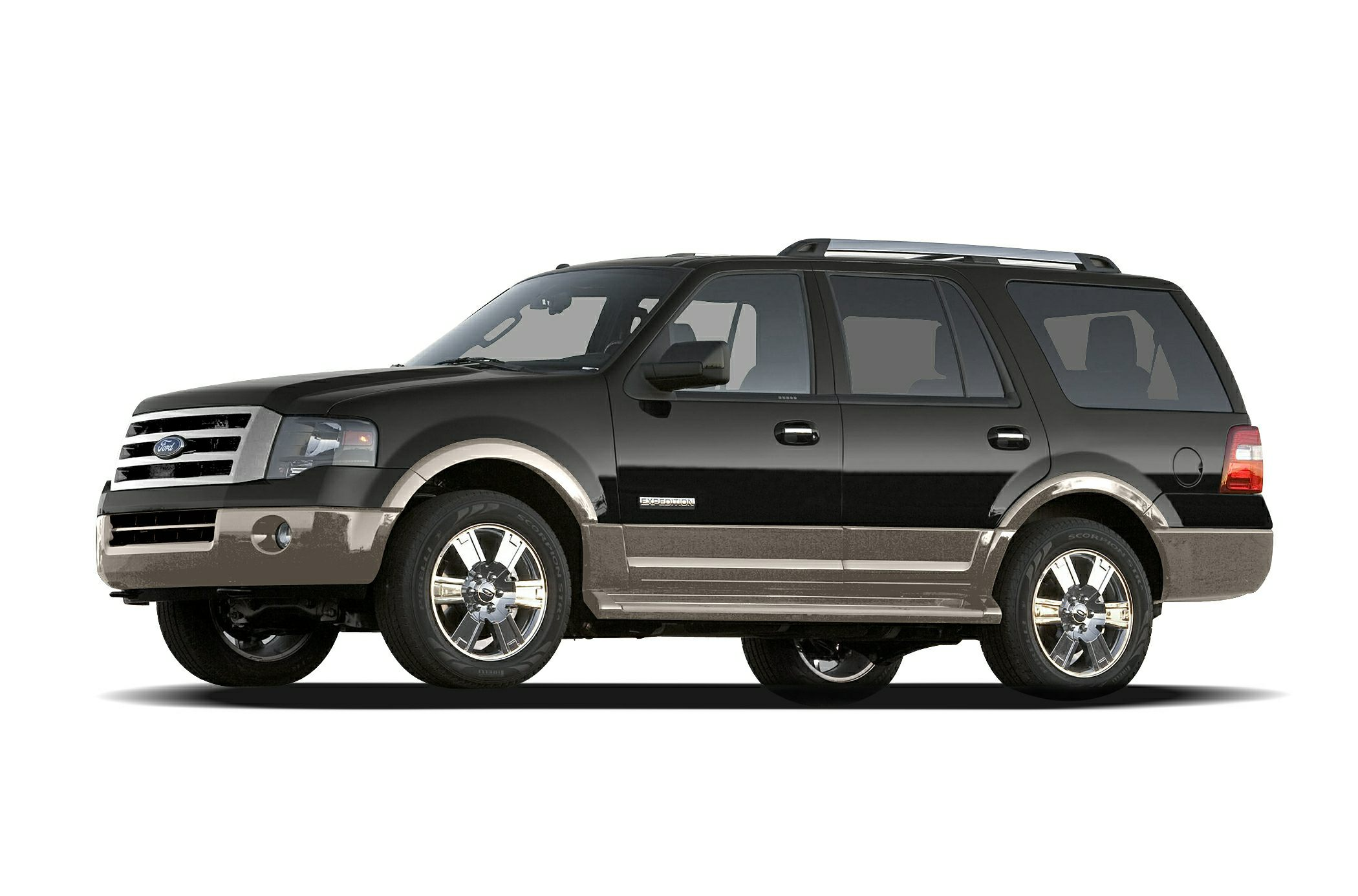 2007 Ford Expedition Eddie Bauer Clean CARFAX Red 2007 Ford Expedition Eddie Bauer 4WD 6-Speed Au