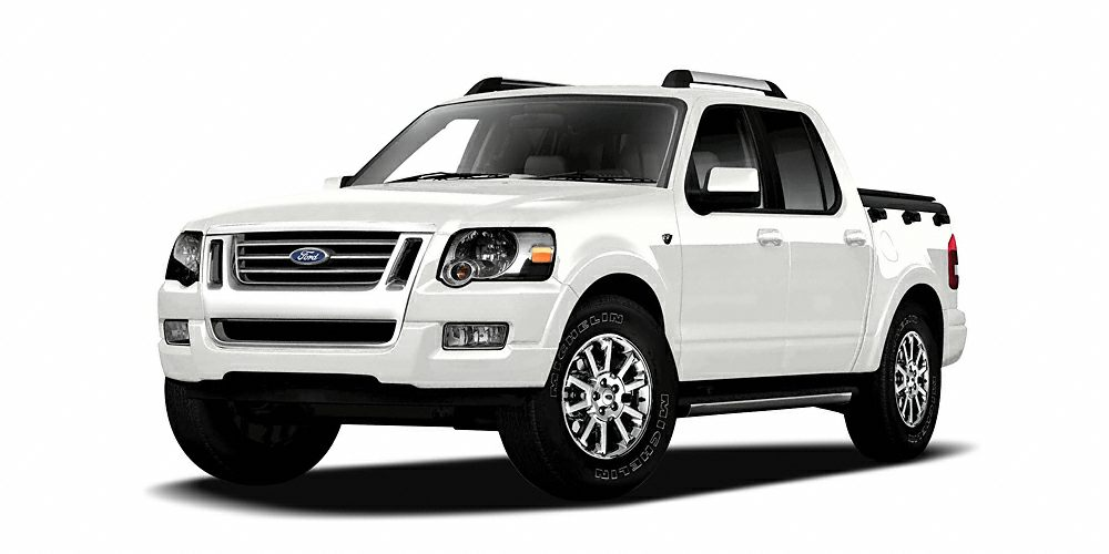 2007 Ford Explorer Sport Trac Limited Miles 130123Color Oxford White Clearcoat Stock 6946B VI