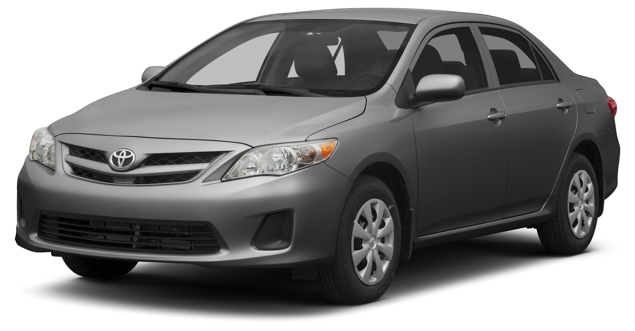 2013 Toyota Corolla LE LE trim MAGNETIC GRAY METALLIC exterior and ASH interior FUEL EFFICIENT 3