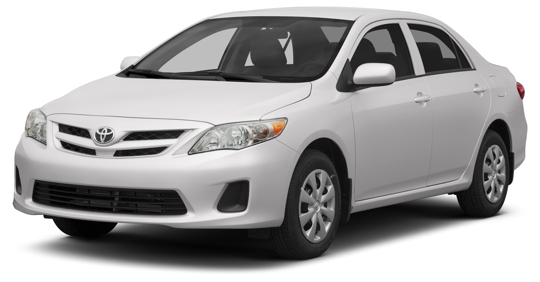 2013 Toyota Corolla LE LOW MILES - 24130 EPA 34 MPG Hwy26 MPG City LE trim SUPER WHITE exteri