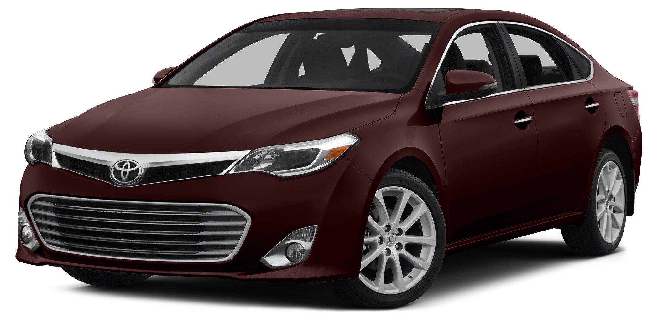 2013 Toyota Avalon Limited CARFAX 1-Owner Limited trim Sunroof Navigation HeatedCooled Leathe