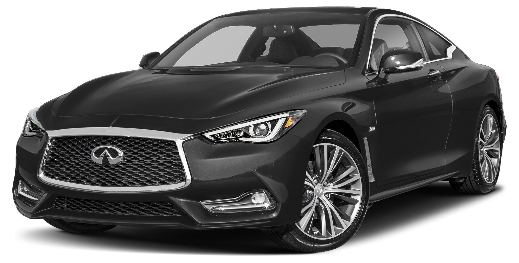 2018 INFINITI Q60 30T Red Sport 400 Optional equipment includes Carbon Fiber Rear Decklid Spoile
