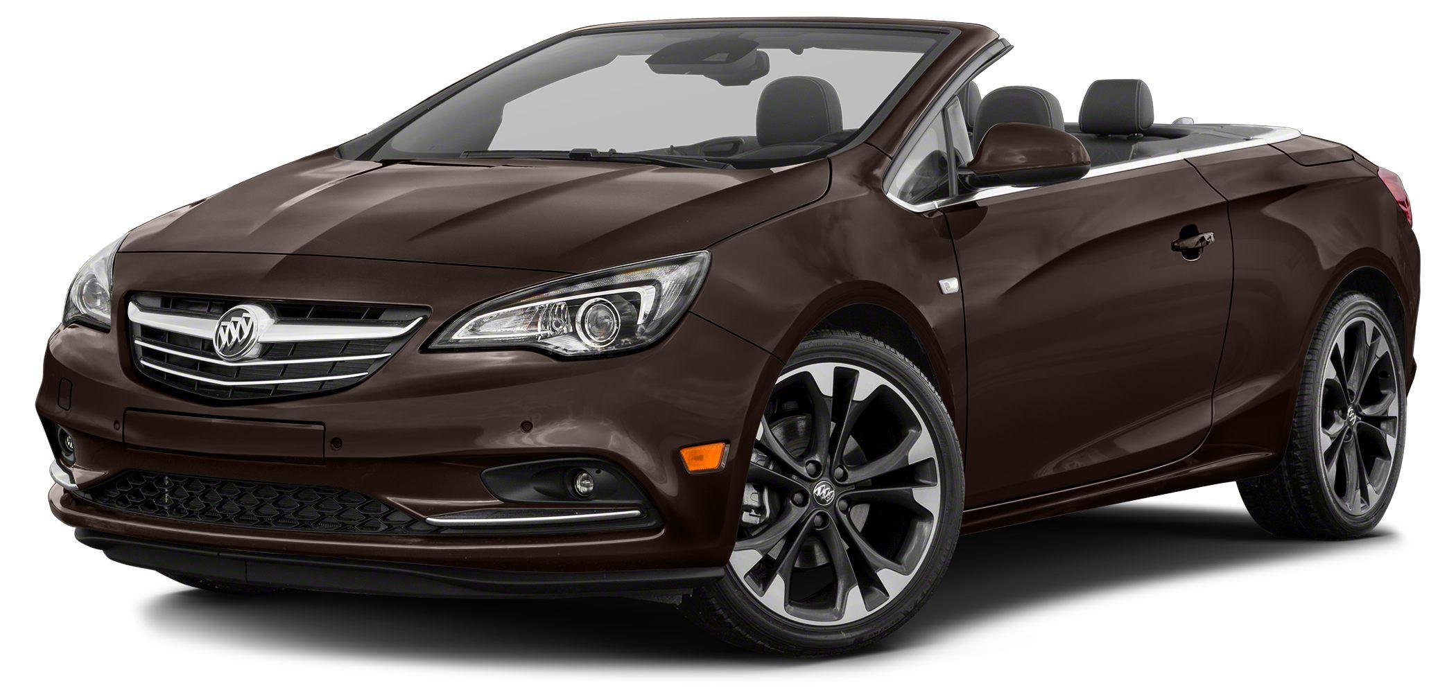 2017 Buick Cascada Premium Treat yourself to this 2017 Buick Cascada Premium which features a bac