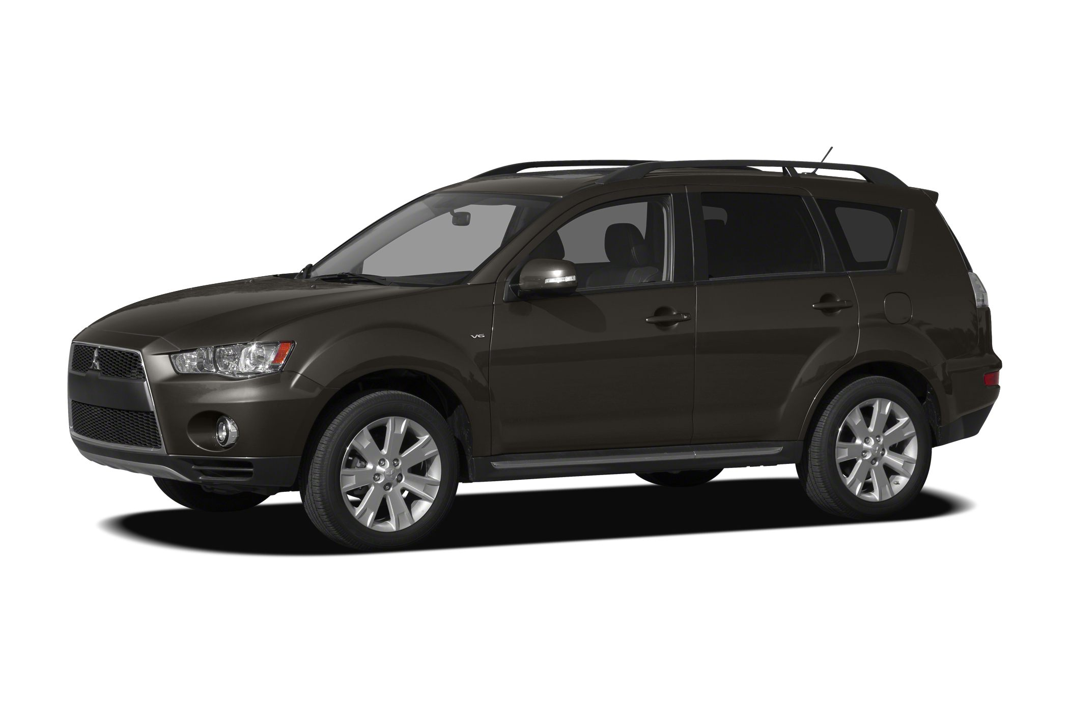2012 Mitsubishi Outlander SE Heres a good looking SUV Feature-packed and decked out All of the