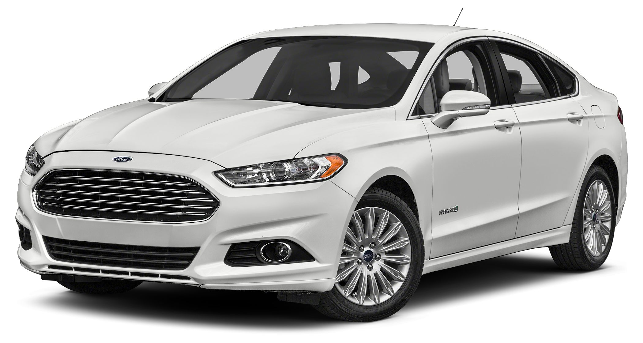2016 Ford Fusion Hybrid S The Ford Fusion has the upscale style and front grille that resemble hig