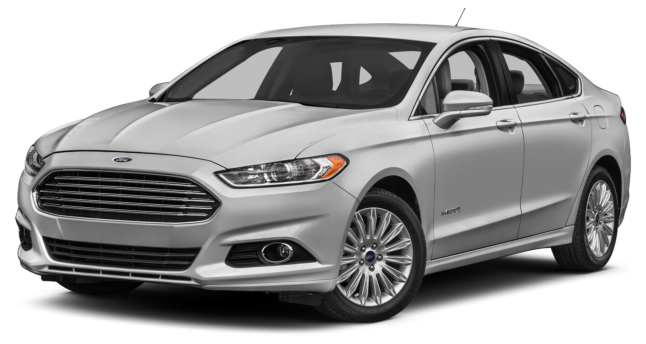 2016 Ford Fusion Hybrid Titanium The Ford Fusion has the upscale style and front grille that resem