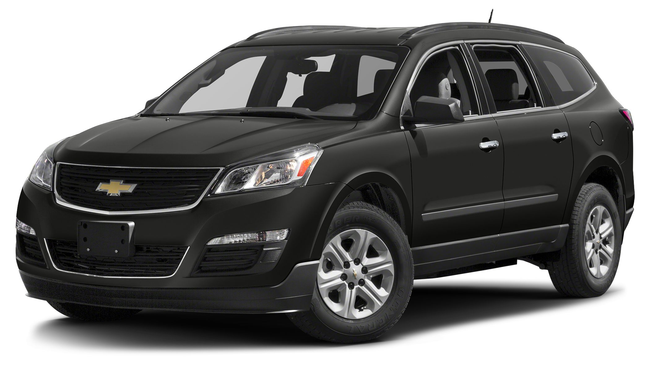 2017 Chevrolet Traverse LS Offering the roominess of a traditional SUV but with car-like handling