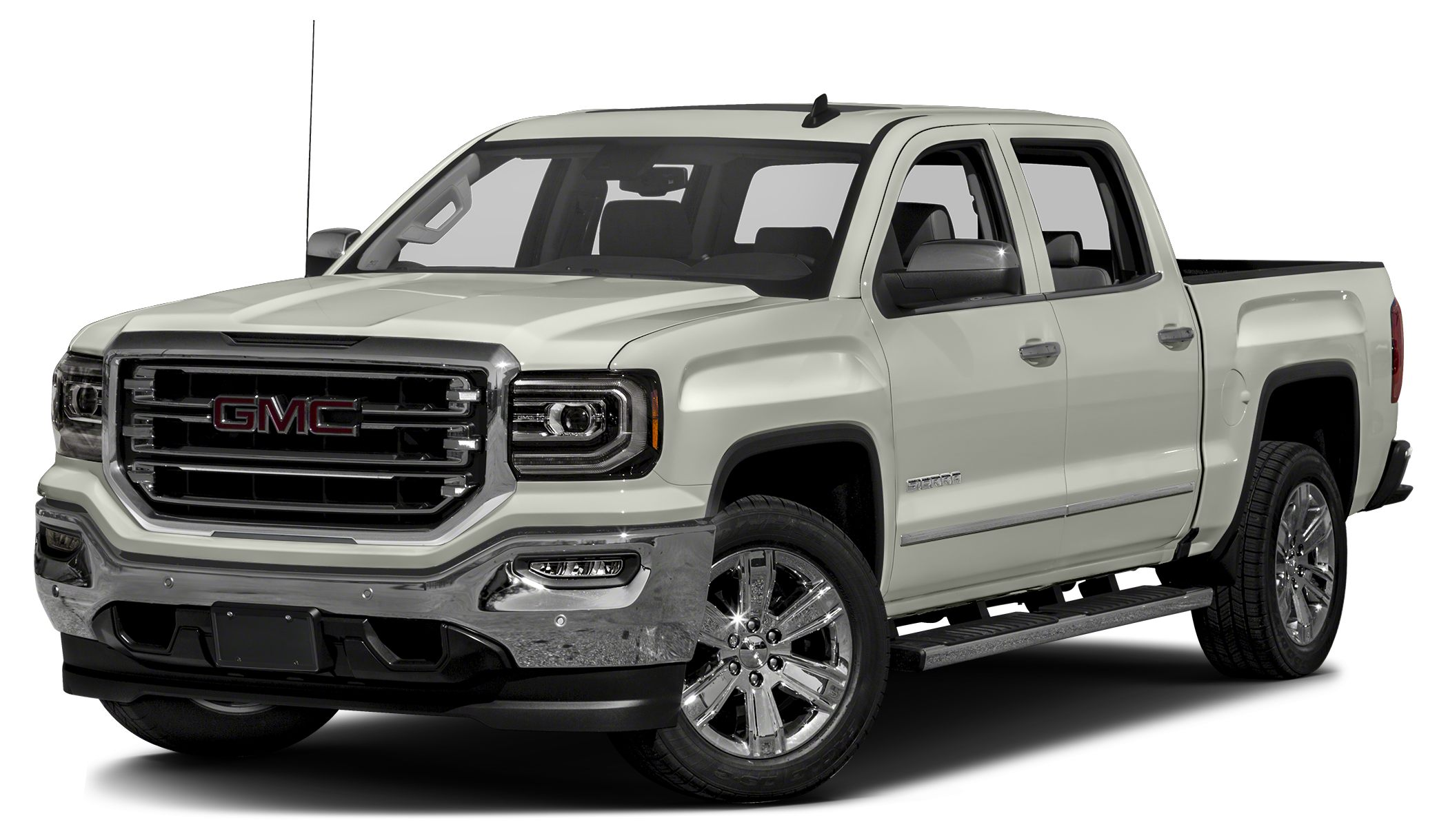 2016 GMC Sierra 1500 SLT Moonroof Nav System Heated Leather Seats SEATING HEATED AND VENTED PE