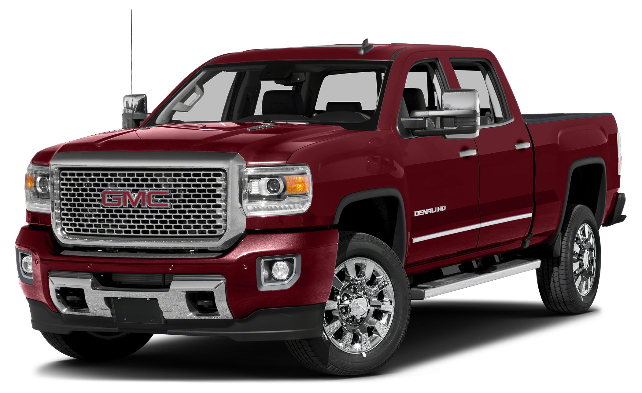 2017 GMC Sierra 2500HD Denali Miles 5Color Deep Garnet Metallic Stock GH132185 VIN 1GT12UEGX