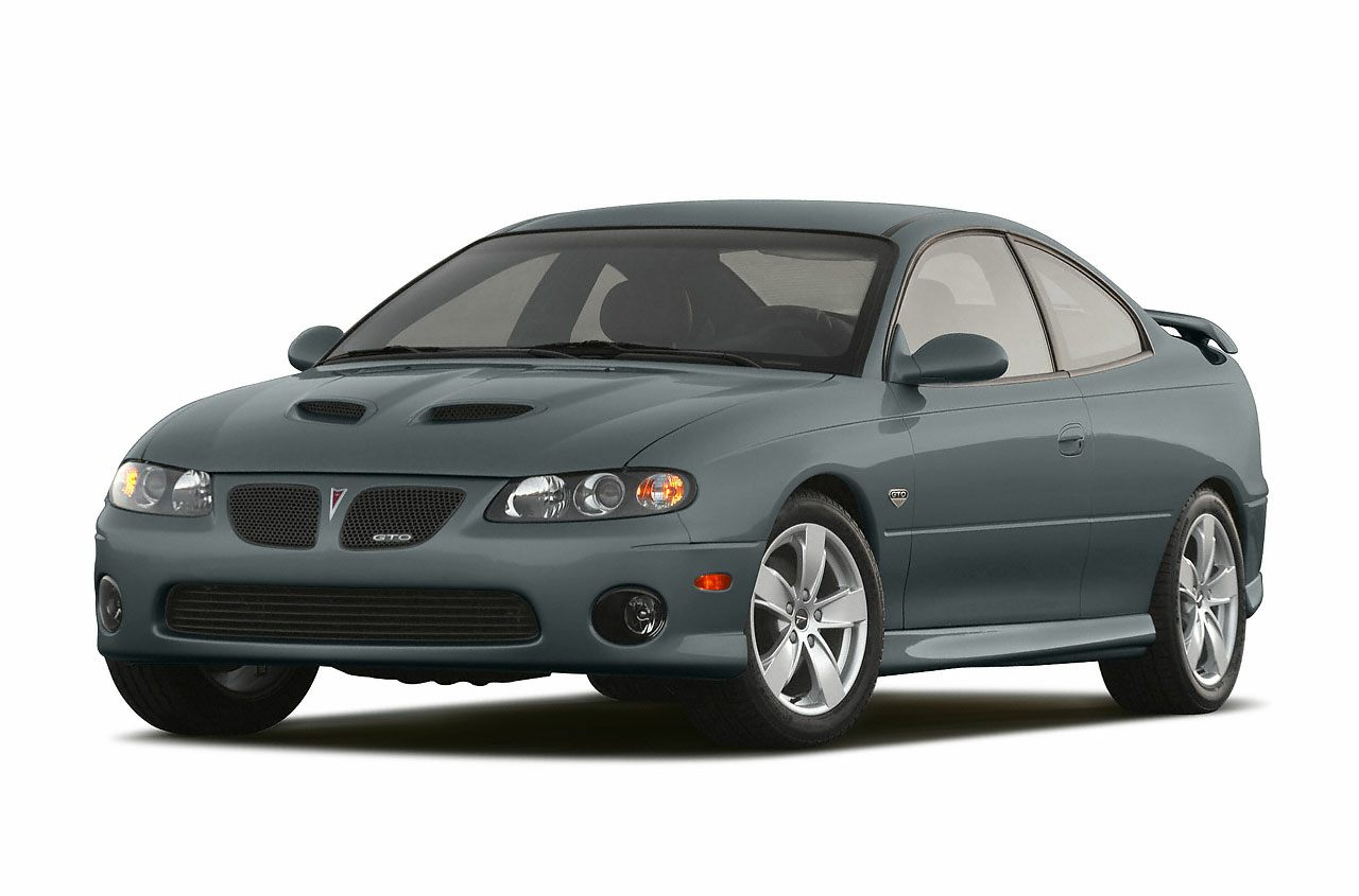 2005 Pontiac GTO Base 60L V8 SFI Aluminum 6-Speed Manual Midnight Blue Metallic Alloy wheels
