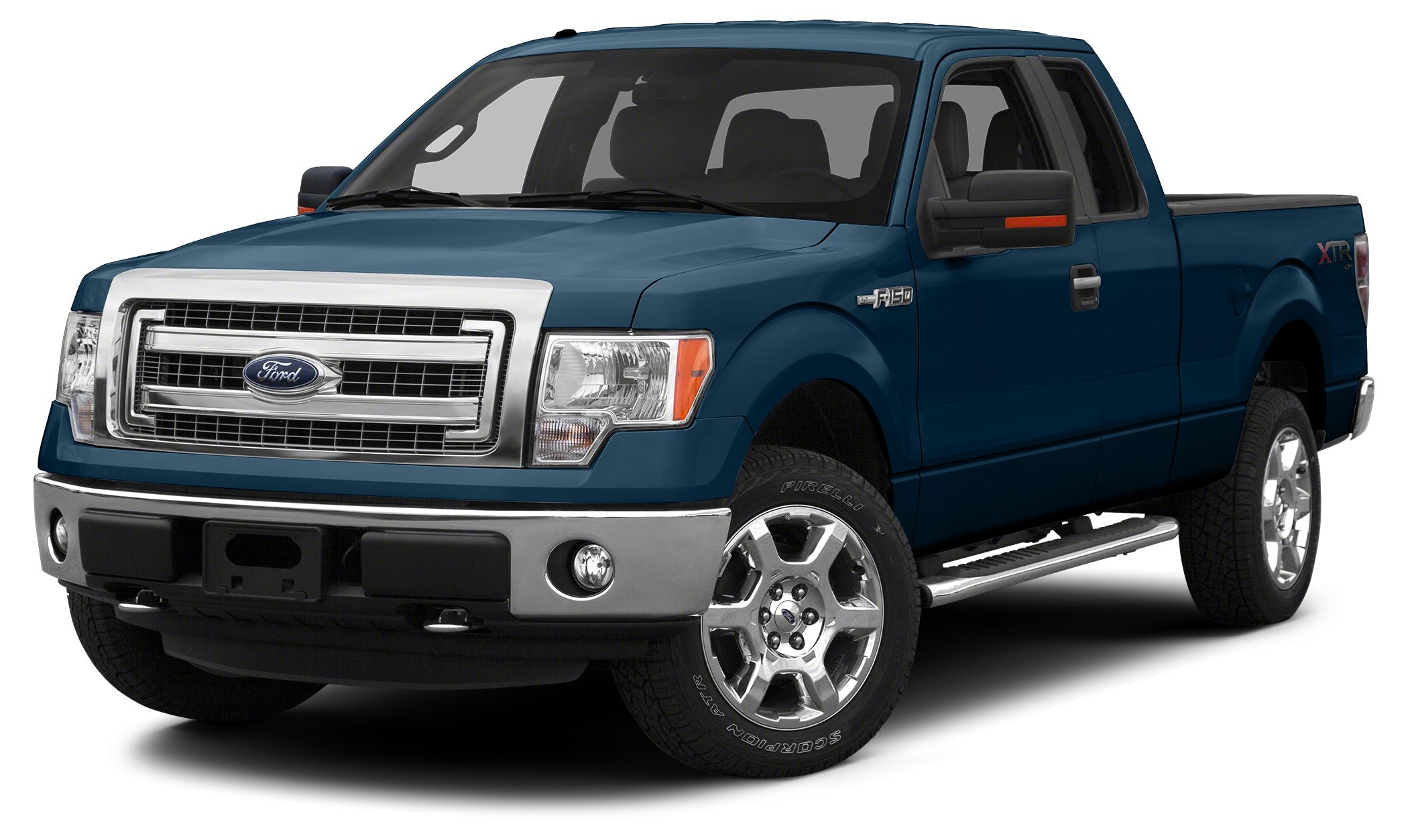 2013 Ford F-150 Lariat CARFAX 1-Owner GREAT MILES 32166 Lariat trim Heated Leather Seats 4x4