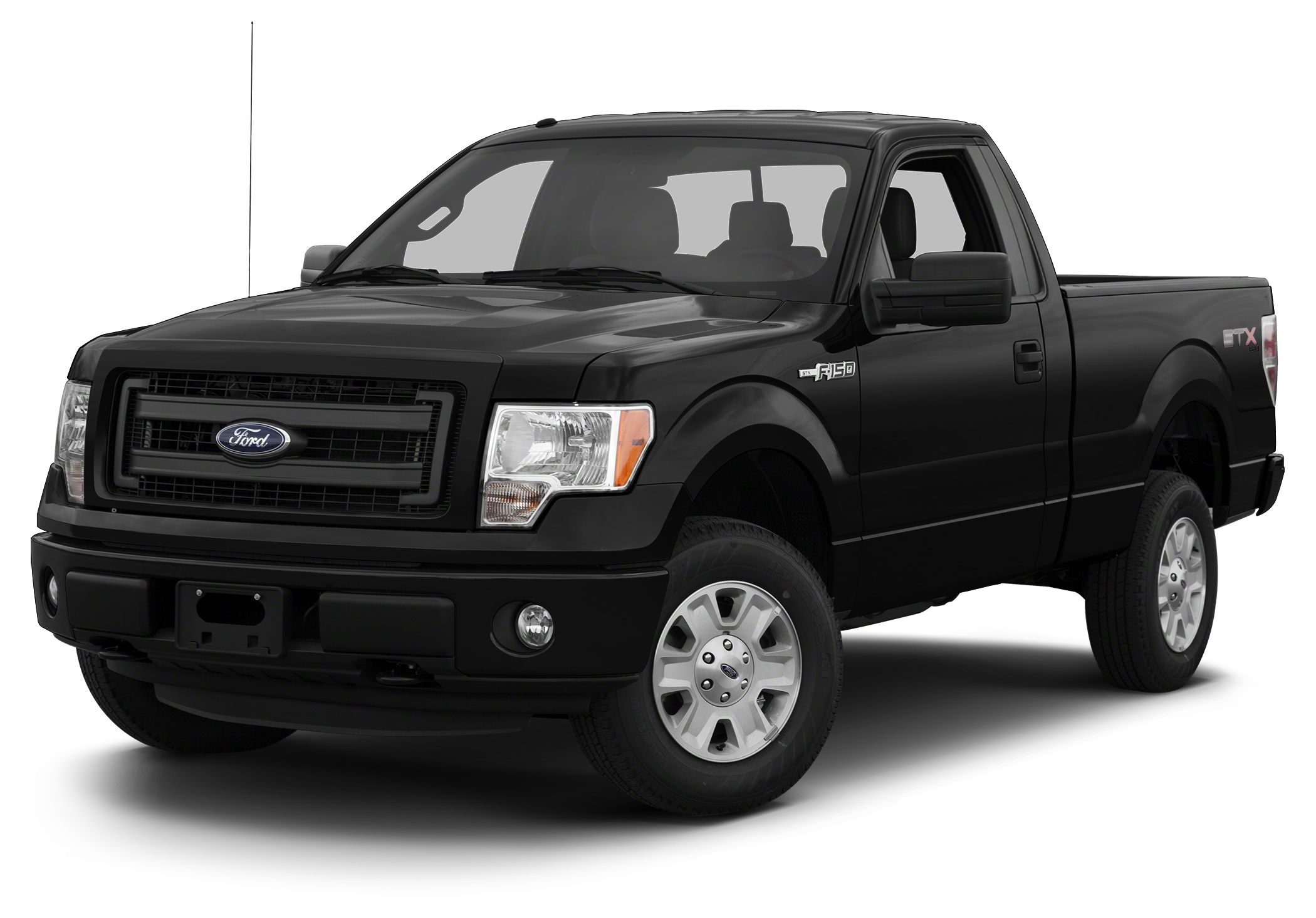 2013 Ford F-150  2D Standard Cab 50L V8 FFV 6-Speed Automatic Electronic 4WD and Tuxedo Black