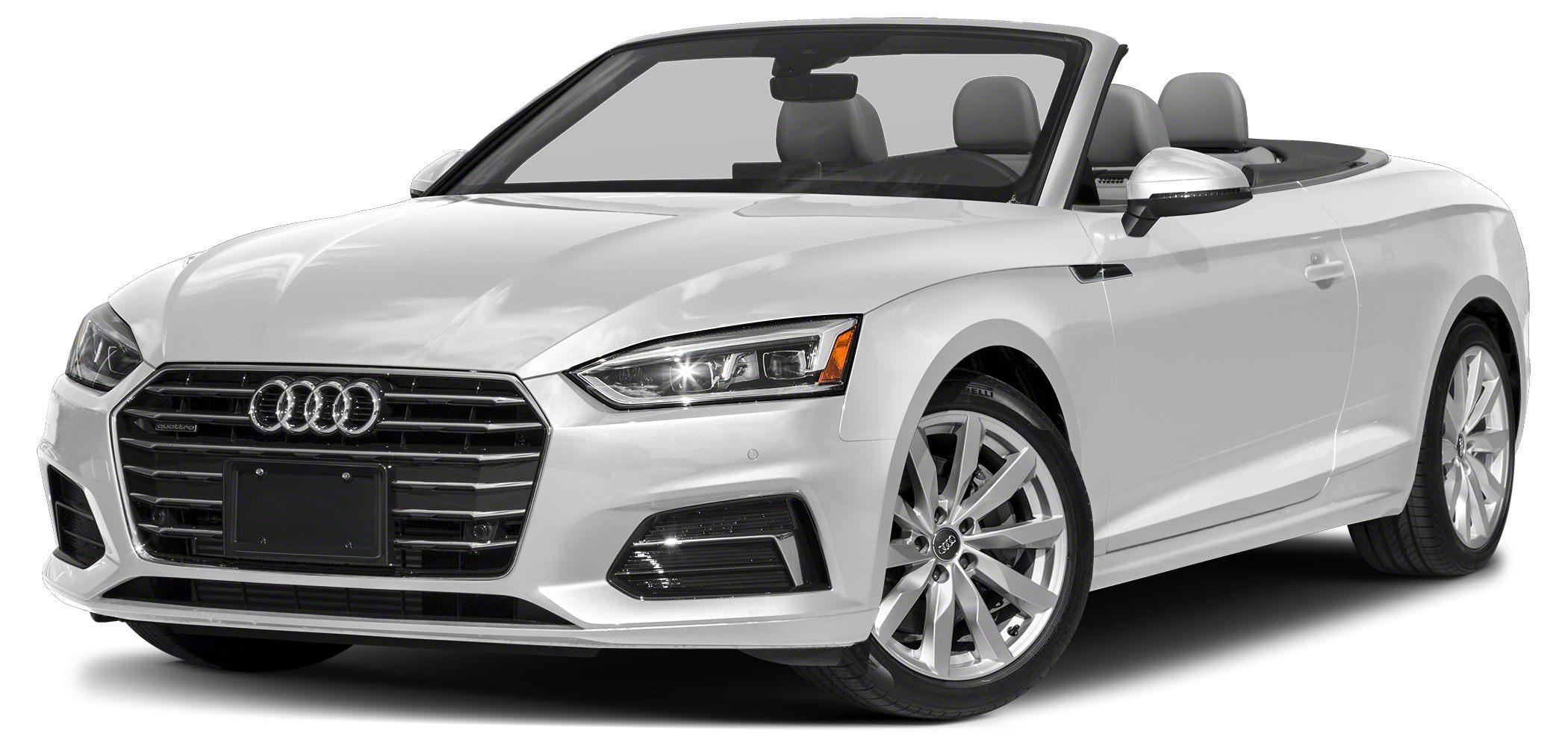 2018 Audi A5 20T quattro Premium Optional equipment includes Premium Plus Navigation Package L