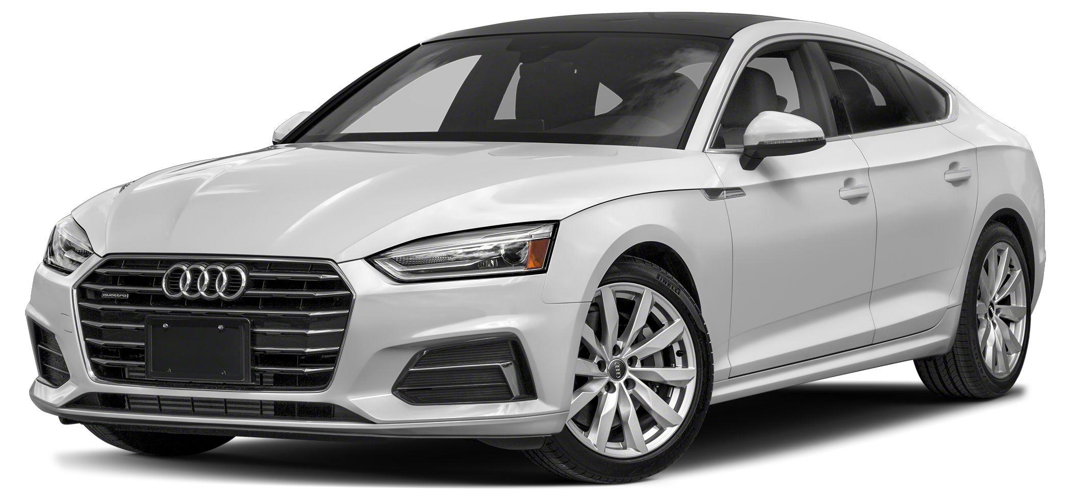2018 Audi A5 20T quattro Premium Optional equipment includes Premium Plus Navigation Package S