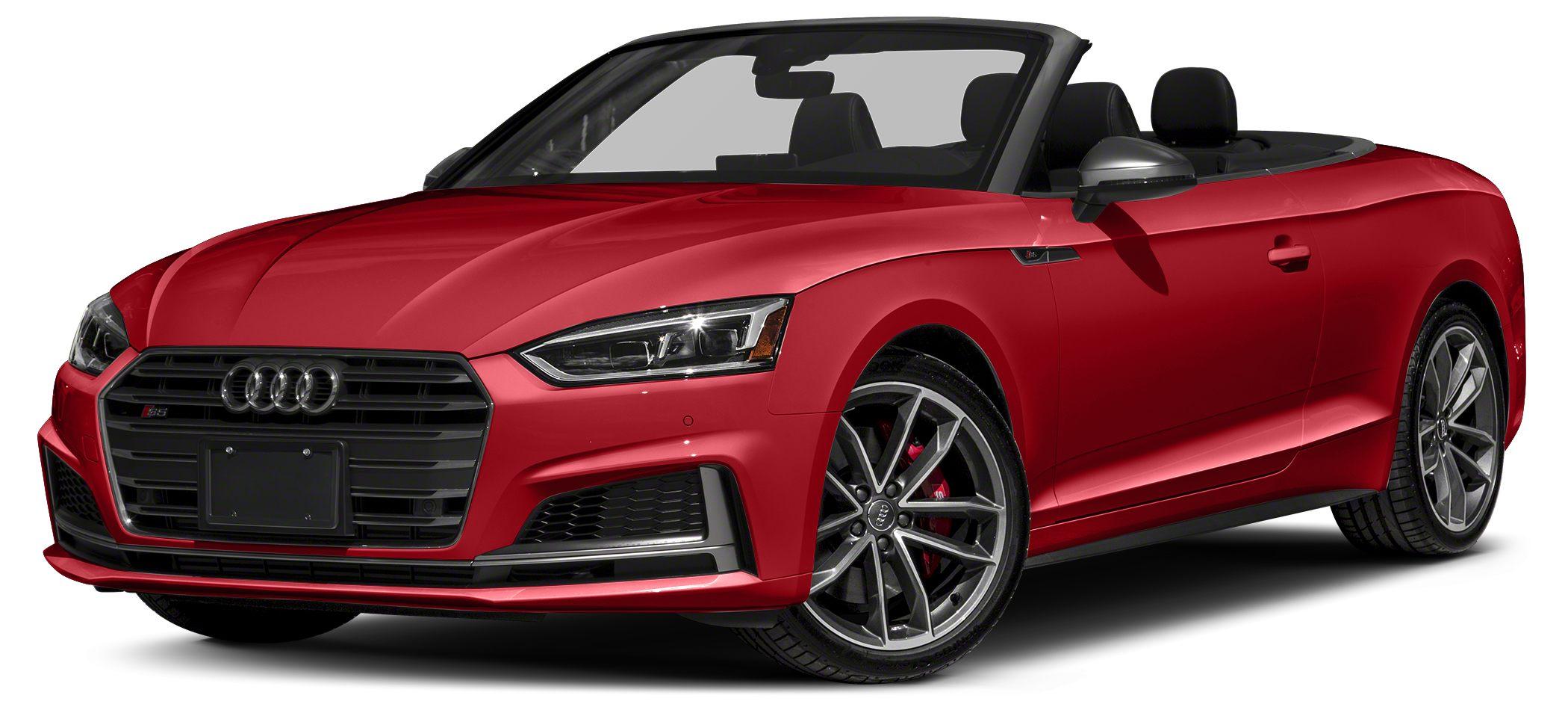 2018 Audi S5 30T quattro Premium Plus Optional equipment includes Prestige S Sport Package Whe