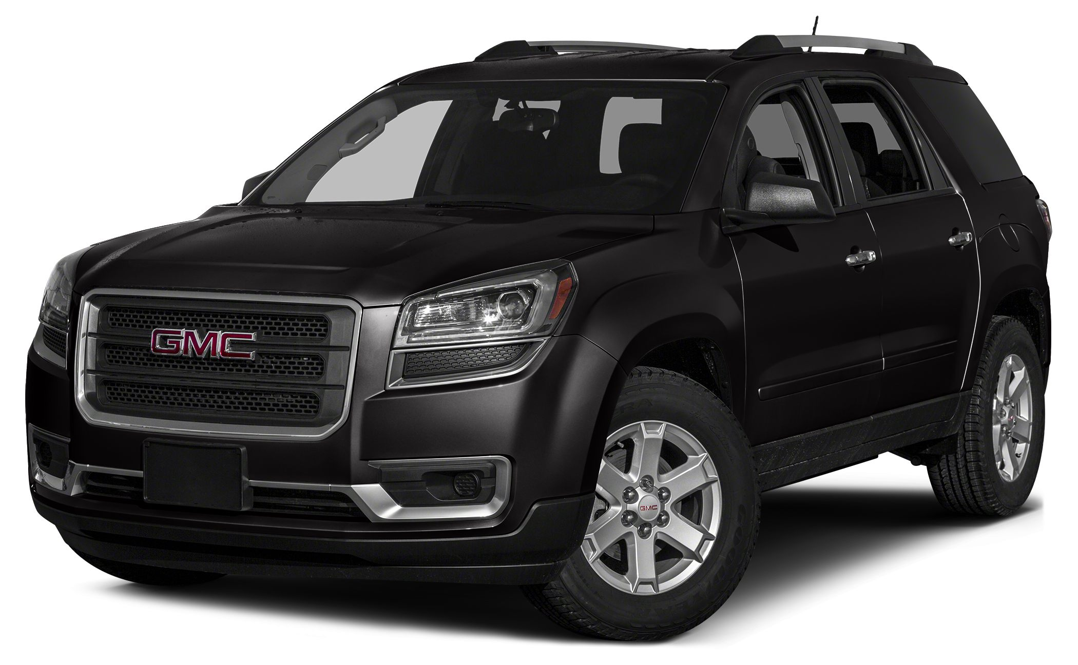 2013 GMC Acadia SLT-1 AWD SLT Carbon Black on Black Heated Leather Bluetooth Reverse Camera