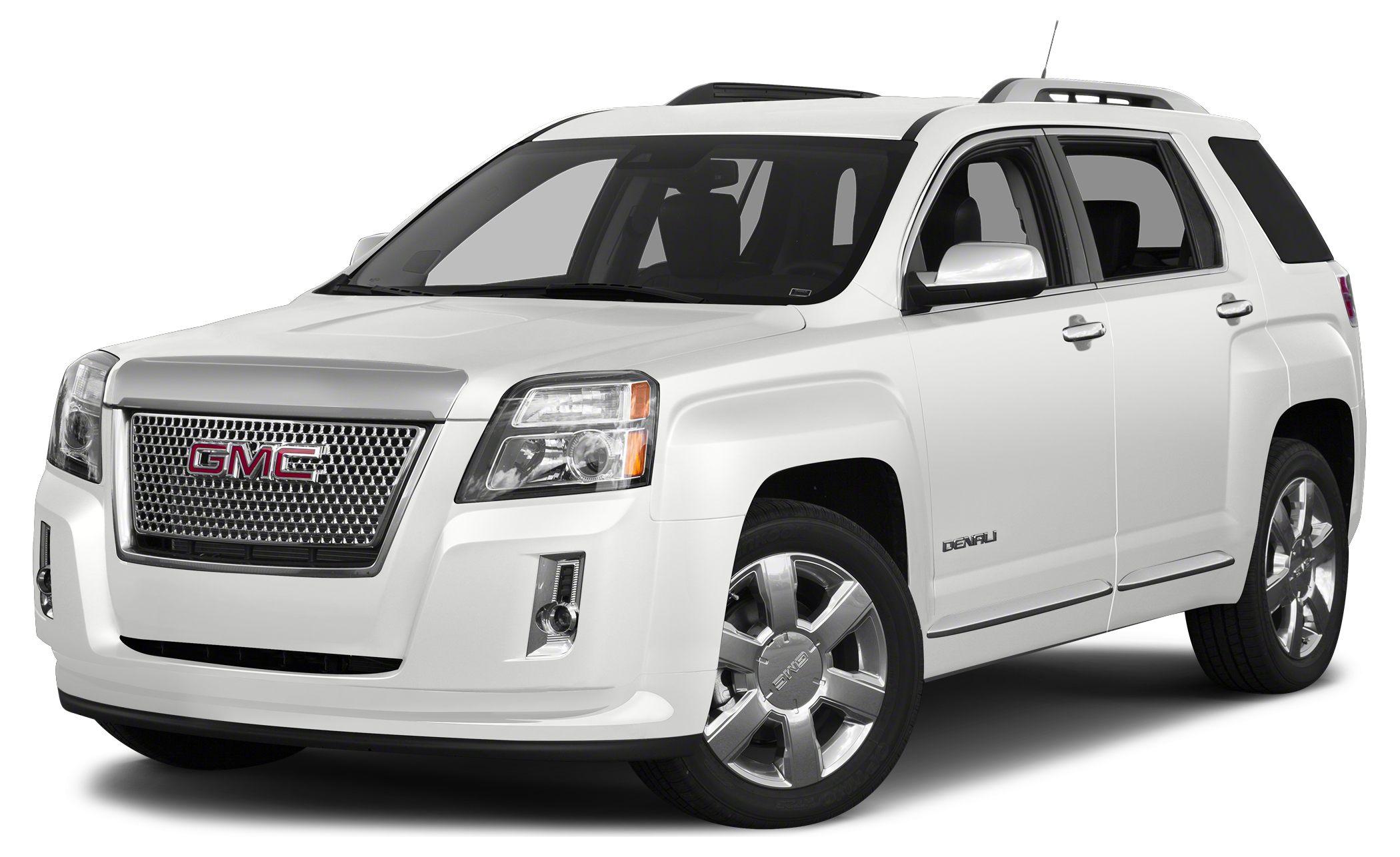 2013 GMC Terrain Denali Miles 43596Color White Stock 3069 VIN 2GKFLZE34D6162045