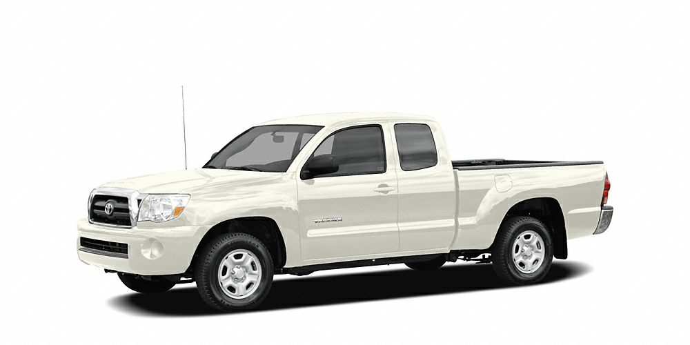 2006 Toyota Tacoma Base FUEL EFFICIENT 26 MPG Hwy21 MPG City 2200 below Kelley Blue Book CAR