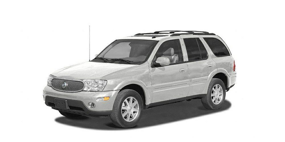 2004 Buick Rainier CXL Miles 80552Color Olympic White Stock 101113A VIN 5GAET13P042285886